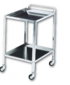 Stainless steel trolley 60x40x75 cm  Art. 126